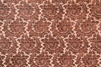 Damask 1 Brown