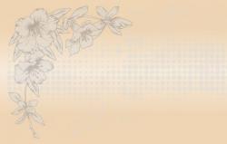 Орхидея беж (матовое)