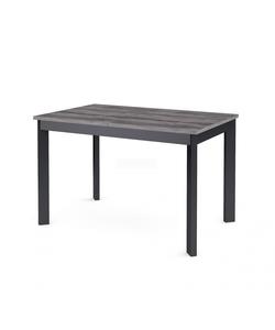 Стол кухонный раздвижной Dikline L110 сосна пасадена/ножки черные