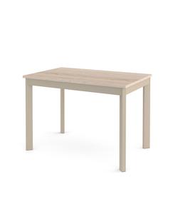 Стол кухонный раздвижной Dikline L111 дуб бардолино/ножки капучино
