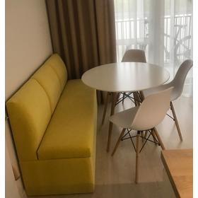 Кухонная скамья прямая со спальным местом Муви СП (бельгийская раскладушка)