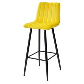 Барный стул DERRY G108-22 велюр золотая осина