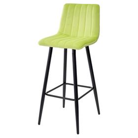 Барный стул DERRY G108-26 велюр стебелек перца