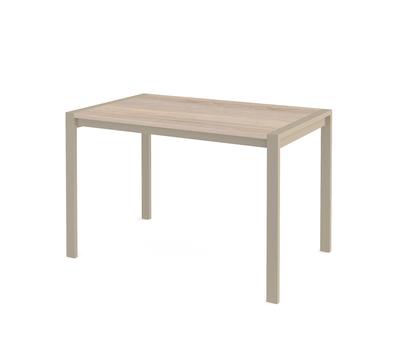 Стол кухонный раздвижной Dikline Т110 дуб бардолино/ножки капучино