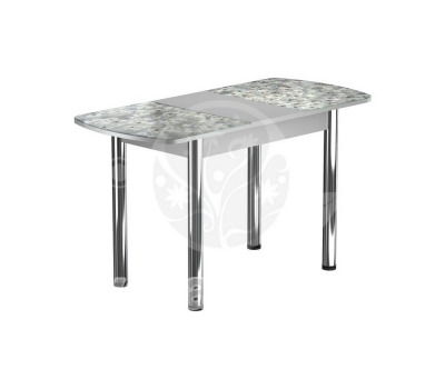 Стол раздвижной обеденный стеклянный с фотопечатью БРФ Р № 117