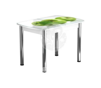 Стол раздвижной обеденный стеклянный с фотопечатью БРФ Р