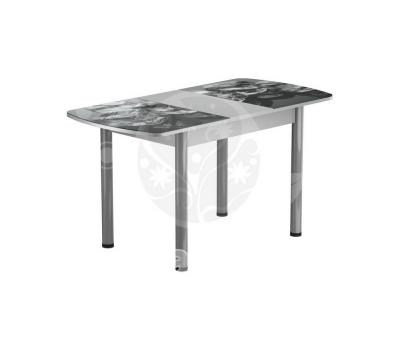 Стол раздвижной обеденный стеклянный с фотопечатью БРФ Р № 98