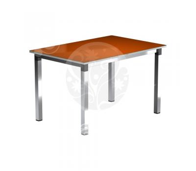 Стол обеденный стеклянный с фотопечатью Васанти-2 квадрат