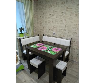 Кухонный уголок комплект Тип 3 со столом и табуретами