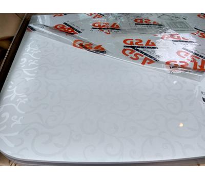 Стол кухонный раскладной верх пластик РАЗНЫЕ ЦВЕТА 80х60 см / 120х80 см