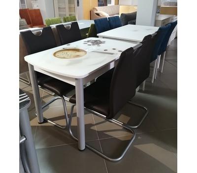 Стол обеденный стеклянный с фотопечатью ПРФ 3
