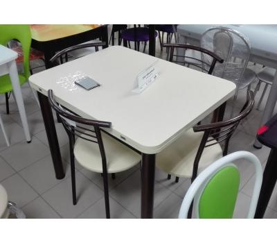 Стол раскладной обеденный верх пластик ПРД РШ трубы