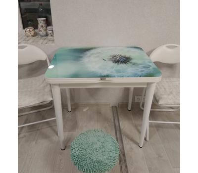 Стол раскладной обеденный стеклянный с фотопечатью ПРФ РШ