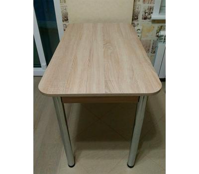 Стол кухонный классический с обвязкой ДСП разные цвета