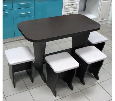 Обеденная группа комплекта Универсальный со столом и табуретами
