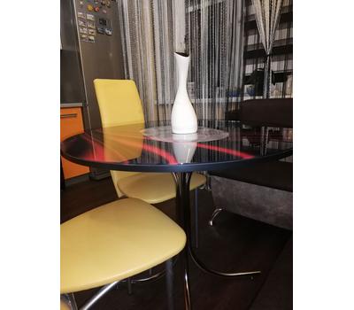 Стол круглый стеклянный с УФ - печатью Соня