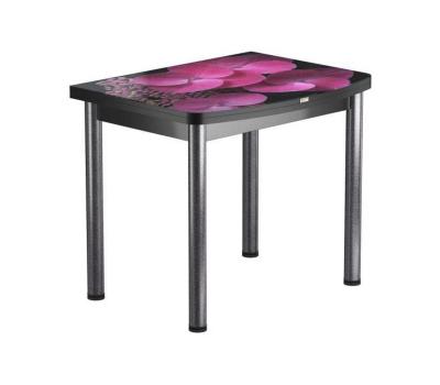Стол раскладной обеденный стеклянный с фотопечатью  БРФ РШ 90х70 см / 140х90 см № 71