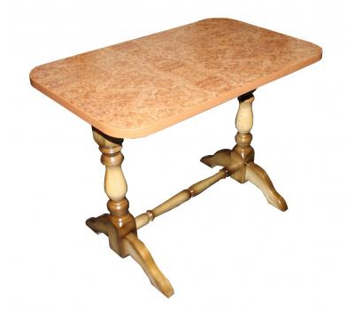 Стол кухонный Элегант ножки массив сосны 9306 S Корень вяза