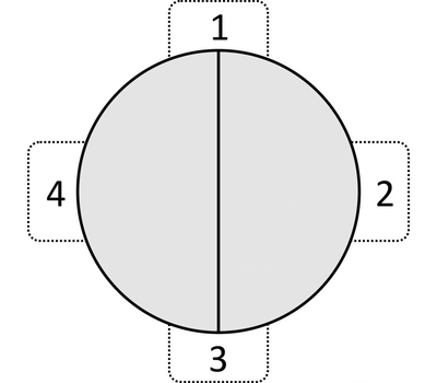 Стол кухонный раздвижной KENNER 1000C венге/стекло серое