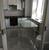 Стол кухонный раздвижной М15 ДН4, белый/стекло белое, вставка белая